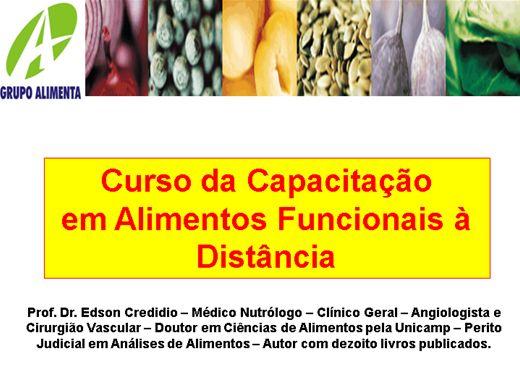 Curso Online de Nutrição Alimento Funcional III