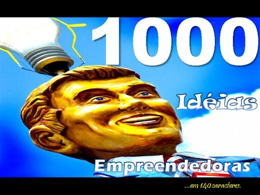 Curso Online de 1000 idéias empreendedoras