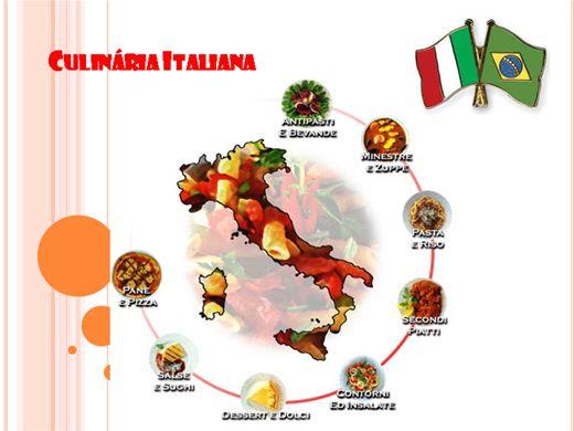 Curso Online de Culinária  Italiana e suas receitas