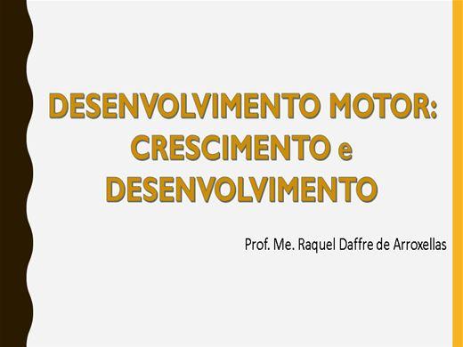 Curso Online de DESENVOLVIMENTO MOTOR: CRESCIMENTO e DESENVOLVIMENTO