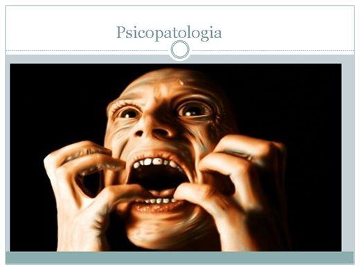 Curso Online de Psicopatologia