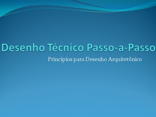 Curso Online de Desenho Técnico Passo-a-Passo