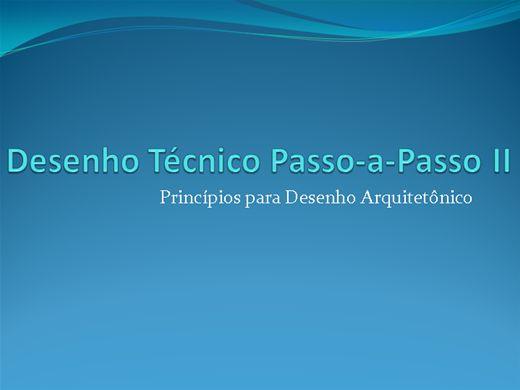 Curso Online de Desenho Técnico Passo-a-Passo II