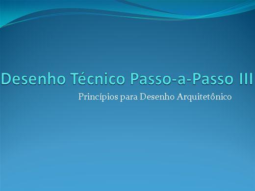 Curso Online de Desenho Técnico Passo-a-Passo III