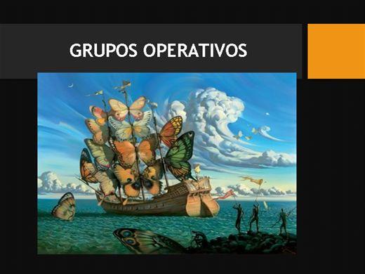 Curso Online de Grupos Operativos