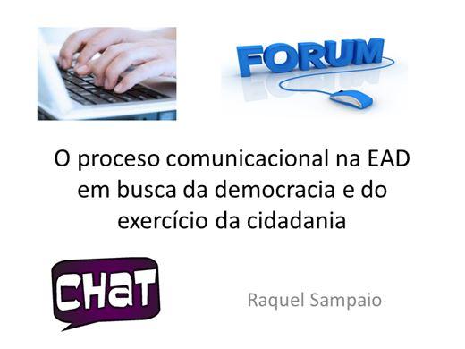 Curso Online de O proceso comunicacional na EAD em busca da democracia e do exercício da cidadania