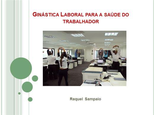 Curso Online de Importância da Ginástica Laboral para a saúde do trabalhador