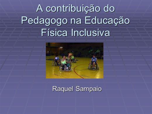 Curso Online de A contribuição do Pedagogo na Educação Física Inclusiva
