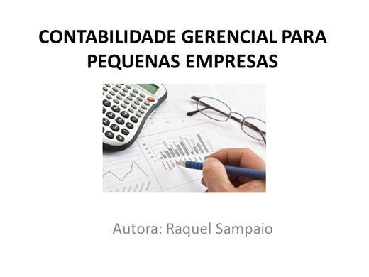 Curso Online de CONTABILIDADE GERENCIAL PARA PEQUENAS EMPRESAS