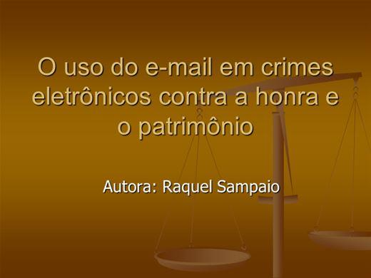 Curso Online de O uso do e-mail em crimes eletrônicos contra a honra e o patrimônio