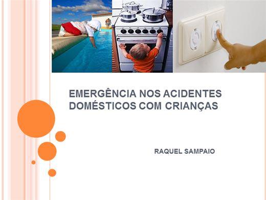 Curso Online de EMERGÊNCIA NOS ACIDENTES DOMÉSTICOS COM CRIANÇAS