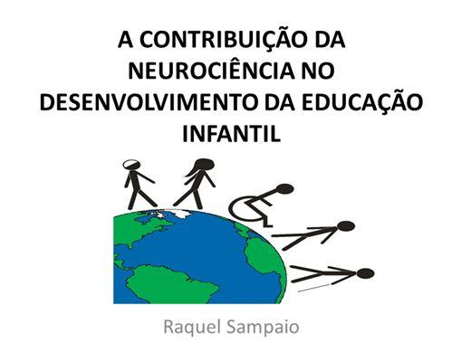 Curso Online de A NEUROCIÊNCIA NO DESENVOLVIMENTO DA EDUCAÇÃO INFANTIL
