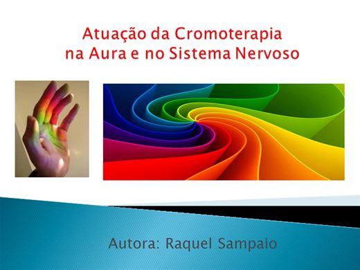 Curso Online de Atuação da Cromoterapia na Aura e no Sistema Nervoso