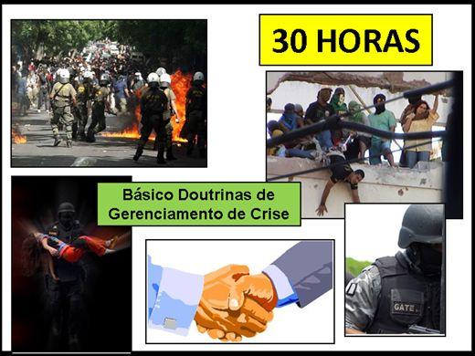 Curso Online de Doutrinas de Gerenciamento de Crise
