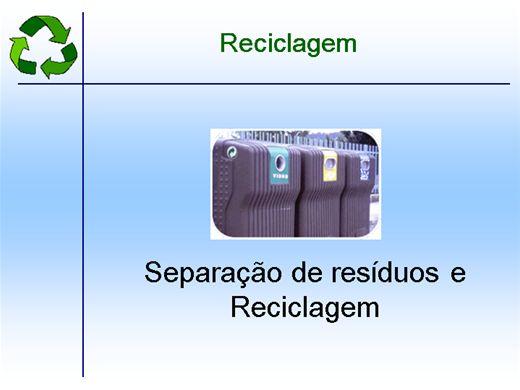 Curso Online de Técnicas de reciclagem