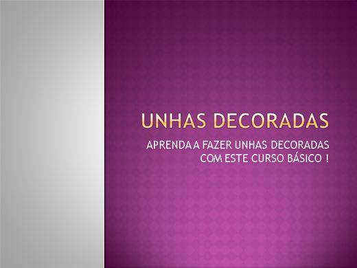 Curso Online de UNHAS DECORADAS