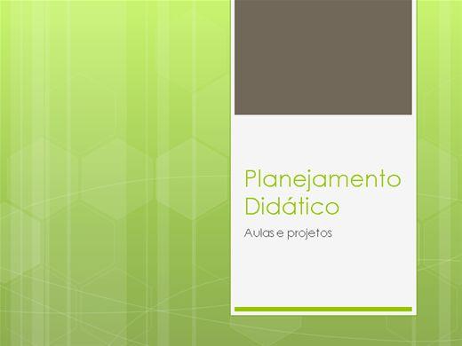 Curso Online de Planejamento didático, introdução teórica, aulas e projetos