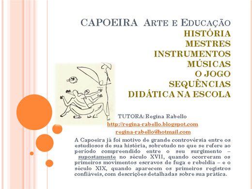 Curso Online de Capoeira - Arte e Educação