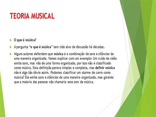Curso Online de .TEORIA MUSICAL.