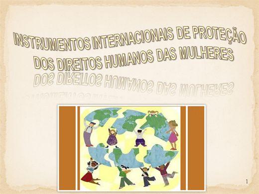 Curso Online de Instrumento de Proteção dos Direitos das Mulheres