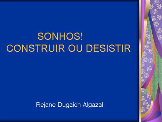Curso Online de SONHOS! CONSTRUIR OU DESISTIR