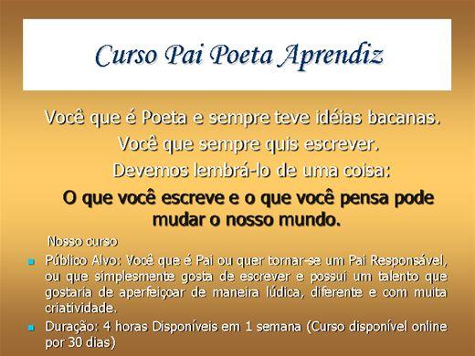 Curso Online de Pai Poeta APrendiz