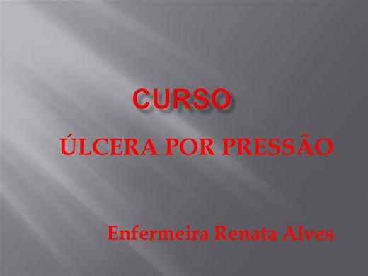 Curso Online de Atualização em úlceras por pressão