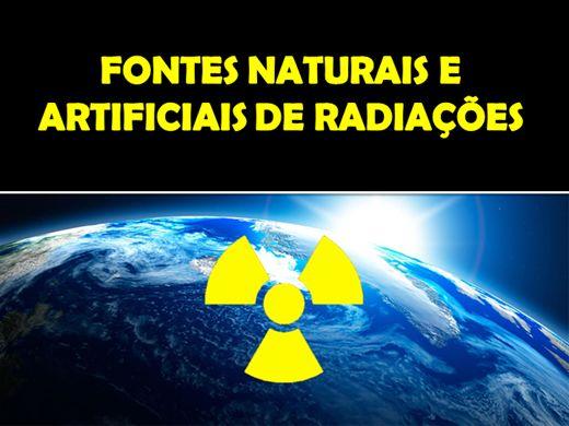 Curso Online de Fontes Naturais e Artificiais de Radiações