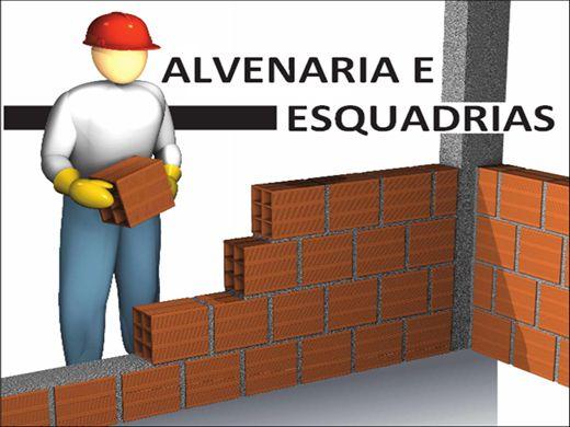 Curso Online de CURSO DE PEDREIRO ALVENARIA E ESQUADRIAS