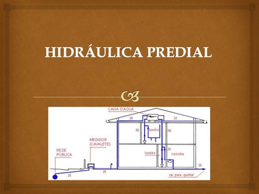 Curso Online de HIDRÁULICA PREDIAL