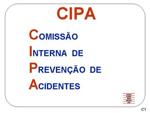 Curso Online de NR 5 CIPA