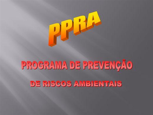 Curso Online de Elaboração e implantação do PPRA