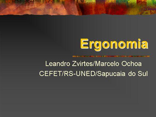 Curso Online de NR 17 - ERGONOMIA