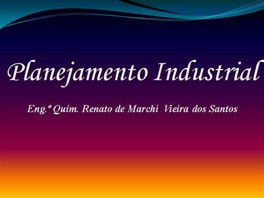 Curso Online de Planejamento Industrial