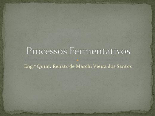 Curso Online de Processos Fermentativos