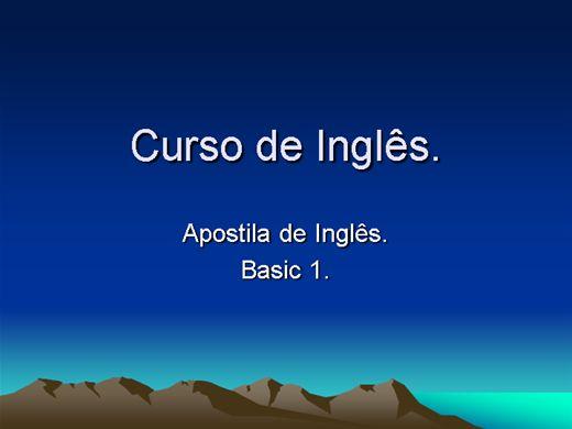 Curso Online de Gramática básica.