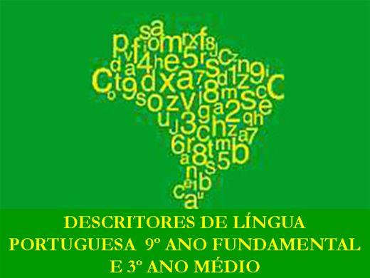 Curso Online de Curso da Matriz de Referência dos Descritores de Língua Portuguesa