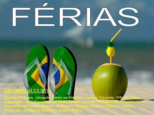 Curso Online de FÉRIAS