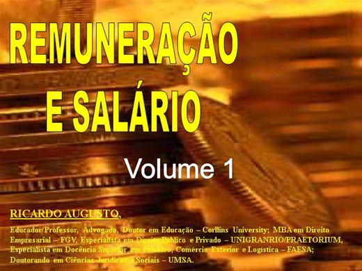 Curso Online de REMUNERAÇÃO E SALÁRIO volume 1