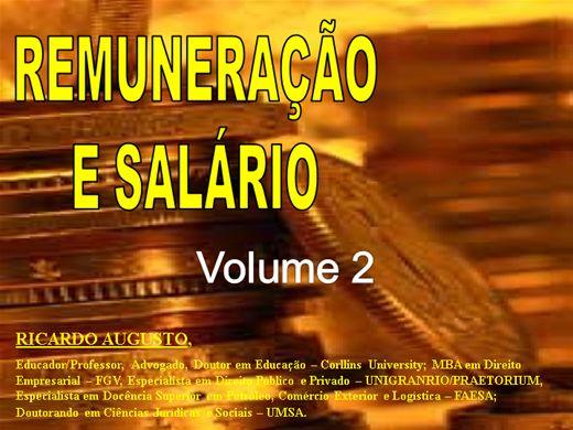 Curso Online de REMUNERAÇÃO E SALÁRIO volume 2