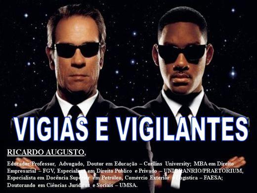 Curso Online de VIGIAS E VIGILANTES