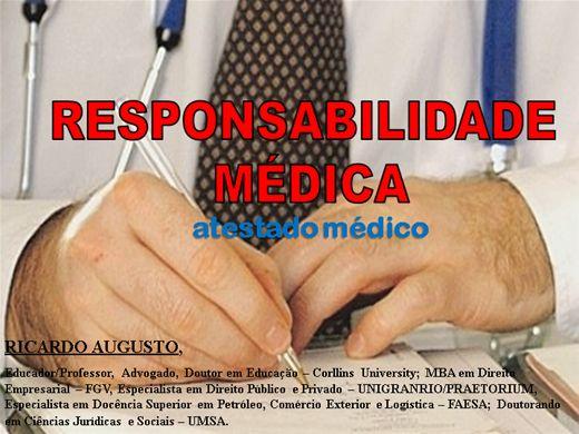 Curso Online de ATESTADO E RESPONSABILIDADE MÉDICA