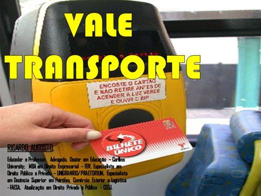 Curso Online de VALE TRANSPORTE