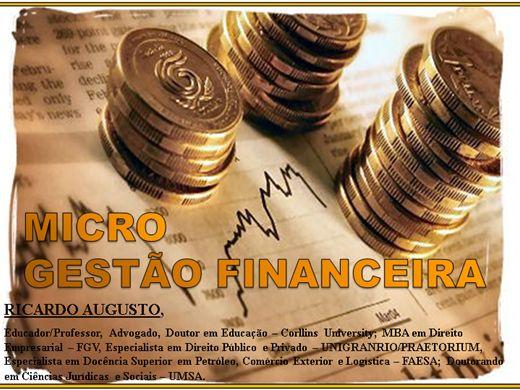 Curso Online de MICROGESTÃO FINANCEIRA