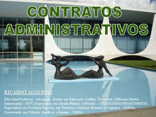 Curso Online de CONTRATOS ADMINISTRATIVOS