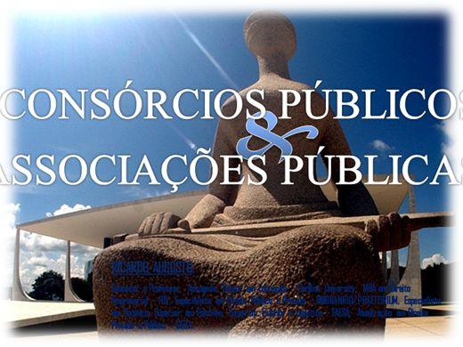 Curso Online de ASSOCIAÇÕES E CONSÓRCIOS PÚBLICOS