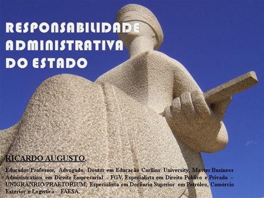 Curso Online de RESPONSABILIDADE OBJETIVA E SUBJETIVA DO ESTADO