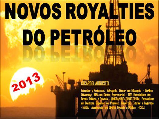 Curso Online de NOVOS ROYALTIES DO PETRÓLEO 2013