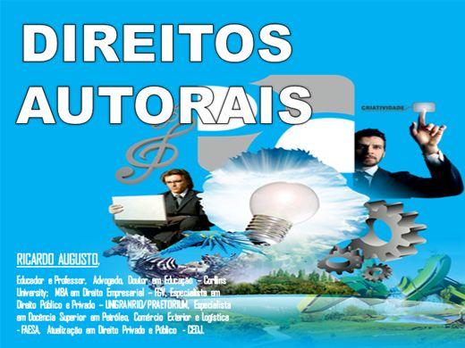 Curso Online de DIREITOS AUTORAIS