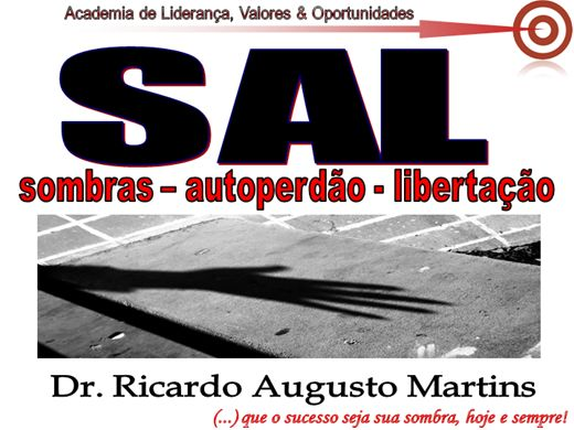 Curso Online de SAL SOMBRAS AUTOPERDÃO LIBERTAÇÃO